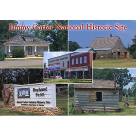 4X6 Postcard GA Jimmy Carter's Boyhood Farm – Pack of 50 Postcar