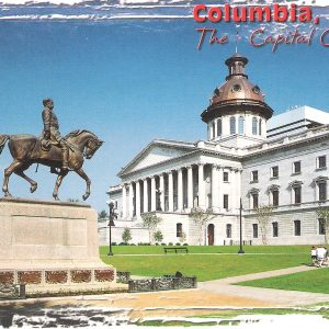 4X6 Postcard – Columbia SC – The Capital City – Pack of 50