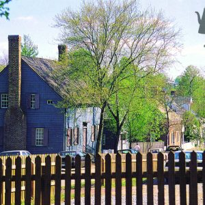 4×6 Postcard – Old Salem – Philip Reich House – Pack of 50