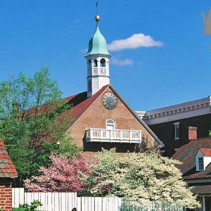 4×6 Postcard – Old Salem – Moravian Church – Pack of 50